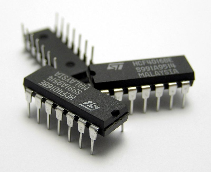 Fig 1 - IC chips